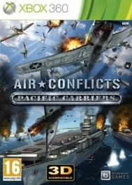 Air Conflicts: Pacific Carriers  Xbox 360 rabljena_front_265
