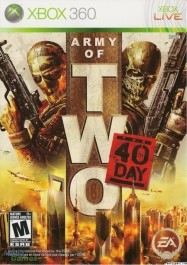 Army of Two 40th day Xbox 360 rabljena_front265