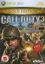 Call of Duty 3 GOLD Edition Xbox 360 rabljena_front_265