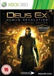 Deus Ex Human Revolution Limited Xbox 360 rabljena_front_265