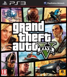Grand Theft Auto V GTA 5 PlayStation 3 (PS3) rabljena_front_265