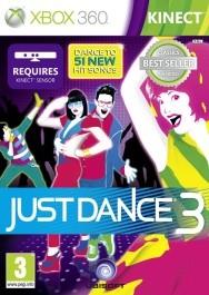 Just Dance 3 rabljena Xbox 360 kinect_front_265