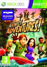 Kinect Adventures! rabljena Xbox 360 kinect_front_265