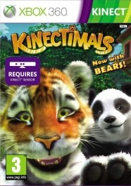 Kinectimals: Now with Bears! Xbox 360 rabljena_kinect_front_265