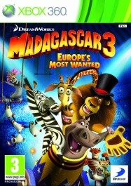 Madagascar 3  Xbox 360 rabljena_front_265