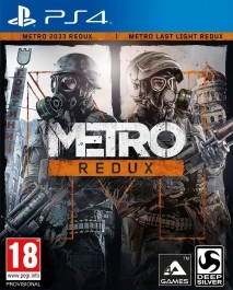 Metro: Redux (rabljena)  PlayStation 4 (PS4)_front_265