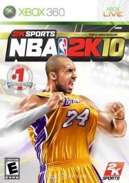 NBA 2K10 Xbox 360 rabljena_front_265