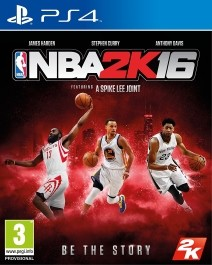 NBA 2K16 (rabljena) PlayStation 4 (PS4)_front_265