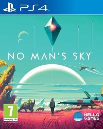 No Man's Sky (rabljena) PlayStation 4 (PS4)_front_265