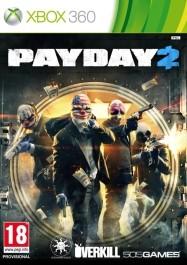 PayDay 2  Xbox 360 rabljena_front_265