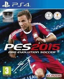 Pro Evolution Soccer PES 2015 (nova) PlayStation 4 (PS4)_front_3