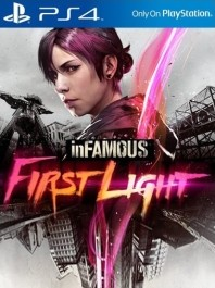 Infamous First Light (nova) PlayStation 4 (PS4)_front_265