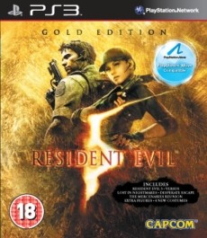 Resident Evil 5 [Gold EDT] (rabljena) (move) Sony PlayStation 3 (PS3)_front_265