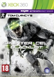 Splinter Cell: Blacklist rabljena Xbox 360 kinect_front_265