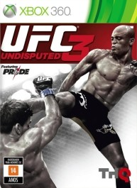 UFC Undisputed 3 Xbox 360 rabljena_front_265
