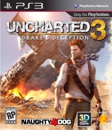 Uncharted 3: Drake's Deception (rabljena) Sony PlayStation 3 (PS3)_front_265