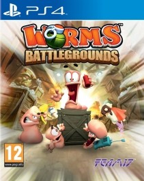 Worms: Battlegrounds (nova) PlayStation 4 (PS4)_front_265