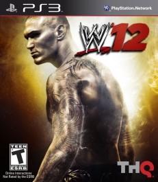 WWE 12 (rabljena) PlayStation 3 (PS3)_front_265