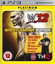 WWE 12 (nova) Sony PlayStation 3 (PS3) front_265