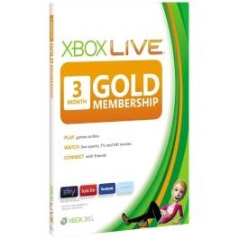 Xbox Live Gold 3 mesečna naročnina Microsoft Xbox 360_265