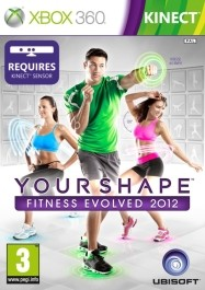 Your Shape Fitness Evolved 2012 rabljena Xbox 360 kinect_front_265
