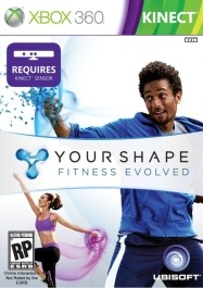 Your Shape: Fitness Evolved Xbox 360 rabljena_kinect_front_265
