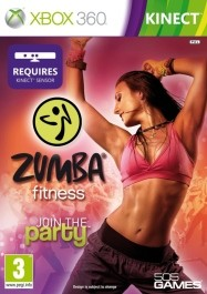 Zumba Fitness: Join the Party rabljena Xbox 360 kinect_front_265