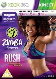 Zumba Fitness Rush rabljena Xbox 360 kinect_front_265