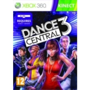 Dance Central 3 rabljena Xbox 360 kinect_front_160