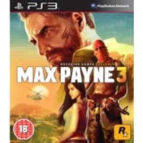 Max Payne 3  (rabljena) Sony PlayStation 3 (PS3) front_160