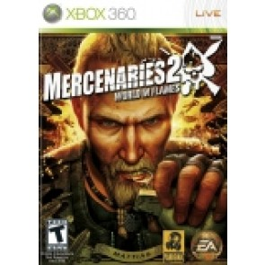 Mercenaries 2 World in Flames Xbox 360 rabljena_front_160