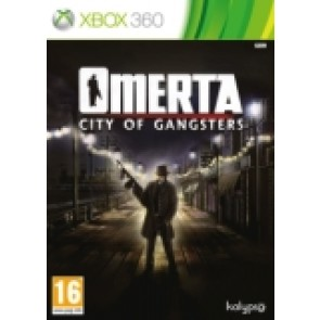 Omerta City of Gangsters  Xbox 360 nova_front_160