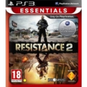 Resistance 2 (nova) Sony PlayStation 3 (PS3) front_160