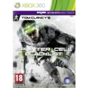 Splinter Cell: Blacklist rabljena Xbox 360 kinect_front_160